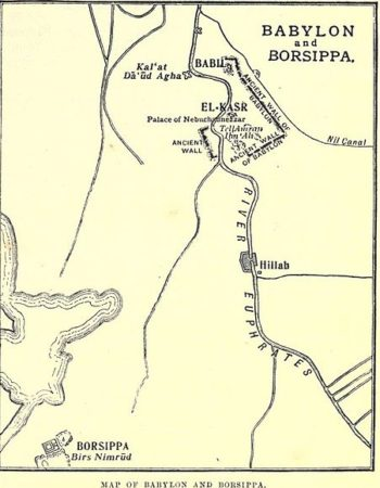 451px Map_of_Babylon_and_Borsippa